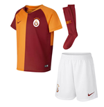 2018-2019 Galatasaray Home Nike Little Boys Mini Kit