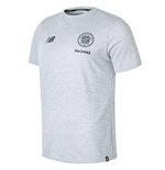 2018-2019 Celtic Elite Cotton Leisure Tee (Grey Marl)