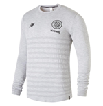2018-2019 Celtic Elite Seamless LS Jersey (Grey Marl)
