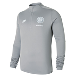 2018-2019 Celtic Training Hybrid Sweat Top (Grey)