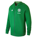 2018-2019 Celtic Training Leisure Hoody (Green)