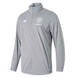 2018-2019 Celtic Training Precision Rain Jacket (Grey)