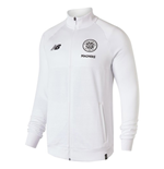 2018-2019 Celtic Training Walkout Jacket (White)