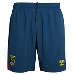 2018-2019 West Ham Away Football Shorts (Navy)