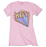 KISS Ladies Tee: Stars