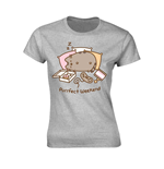 Pusheen Ladies T-Shirt Purrfect Weekend Grey