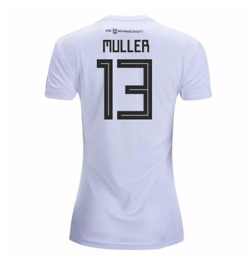 2018-19 Germany Home Womens Shirt (Muller 13)