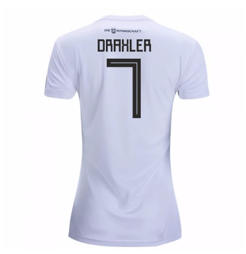 2018-19 Germany Home Womens Shirt (Draxler 7)