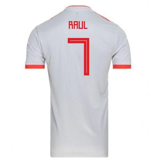 86de0f232 Buy Official 2018-2019 Spain Away Adidas Football Shirt (Raul 7)