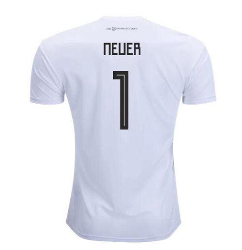2018-2019 Germany Home Adidas Football Shirt (Neuer 1)