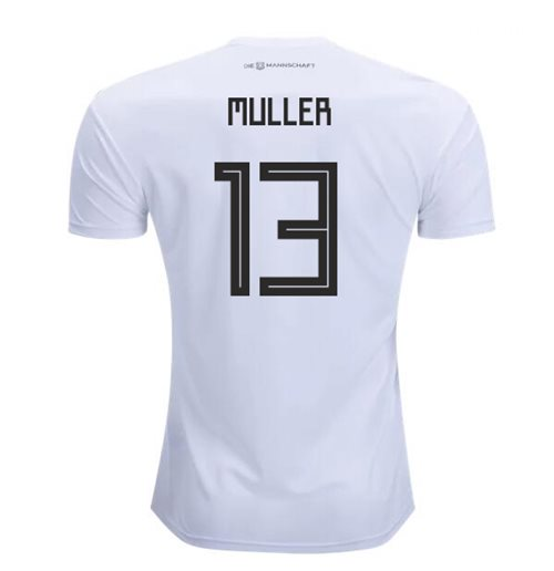 2018-2019 Germany Home Adidas Football Shirt (Muller 13)