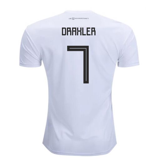 2018-2019 Germany Home Adidas Football Shirt (Draxler 7) - Kids
