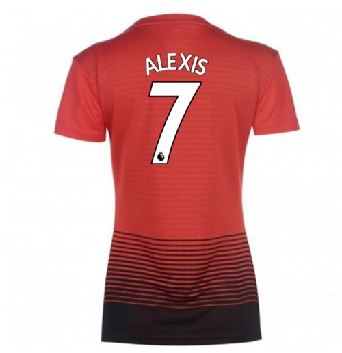 2018-2019 Man Utd Adidas Womens Home Shirt (Alexis 7)
