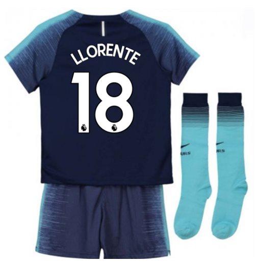 525d16896b78d Buy 2018-2019 Tottenham Away Nike Little Boys Mini Kit (Llorente 18)