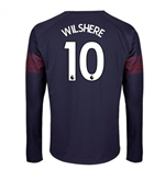 2018-2019 Arsenal Puma Away Long Sleeve Shirt (Wilshere 10)