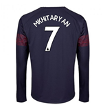 2018-2019 Arsenal Puma Away Long Sleeve Shirt (Mkhitaryan 7)