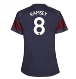 2018-2019 Arsenal Puma Away Ladies Shirt (Ramsey 8)