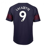 2018-2019 Arsenal Puma Away Football Shirt (Lacazette 9)