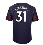 2018-2019 Arsenal Puma Away Football Shirt (Kolasinac 31)