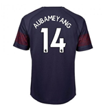 2018-2019 Arsenal Puma Away Football Shirt (Aubameyang 14) - Kids