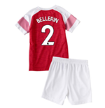 2018-2019 Arsenal Home Little Boys Mini Kit (Bellerin 2)