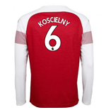 2018-2019 Arsenal Puma Home Long Sleeve Shirt (Koscielny 6) - Kids