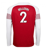 2018-2019 Arsenal Puma Home Long Sleeve Shirt (Bellerin 2) - Kids
