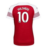 2018-2019 Arsenal Puma Home Ladies Shirt (Wilshere 10)