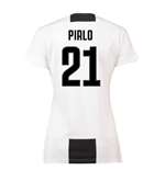 2018-19 Juventus Womens Home Shirt (Pirlo 21)