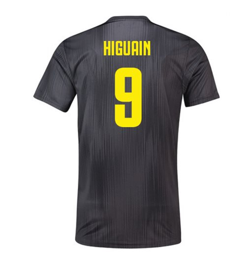 2018-19 Juventus Third Football Shirt (Higuain 9)