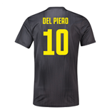 2018-19 Juventus Third Football Shirt (Del Piero 10)