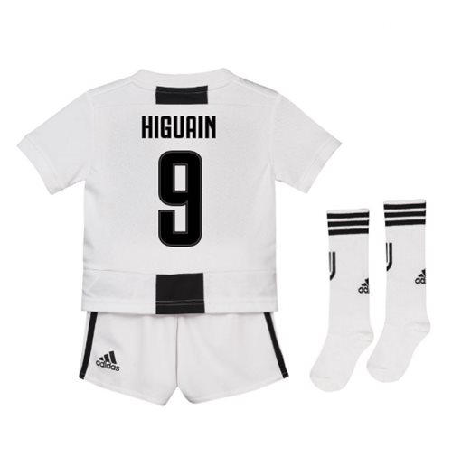 info for 19910 fca36 2018-19 Juventus Home Mini Kit (Higuain 9)