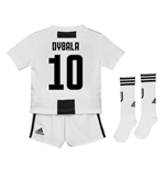 2018-19 Juventus Home Mini Kit (Dybala 10)