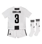 2018-19 Juventus Home Mini Kit (Chiellini 3)