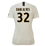 2018-19 Psg Away Womens Shirt (Dani Alves 32)