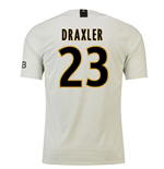 2018-19 Psg Away Football Shirt (Draxler 23)