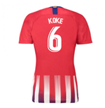 2018-2019 Atletico Madrid Home Nike Ladies Shirt (Koke 6)