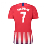 2018-2019 Atletico Madrid Home Nike Ladies Shirt (Griezmann 7)