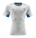 2018-2019 Schalke Umbro Training Shirt (Grey)