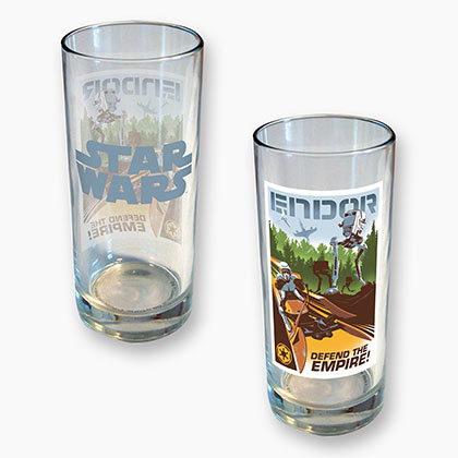 STAR WARS Endor 15 oz Drinking Glass