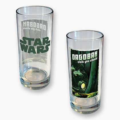 STAR WARS Dagobah 15 oz Glass