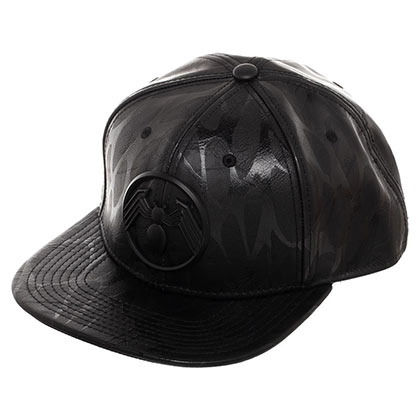 VENOM Spiderman Black on Black Snapback Hat