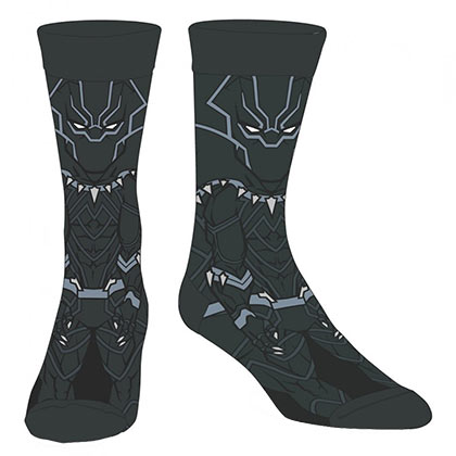 Marvel BLACK PANTHER Character Men's Superhero Socks