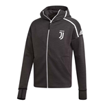 2018-2019 Juventus Adidas Zne 3.0 Anthem Jacket (Grey)