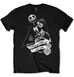 The Nightmare Before Christmas Men's Tee: Simply Meant To Be