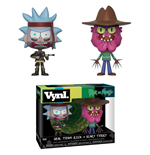 Rick and Morty VYNL Vinyl Figures 2-Pack Rick & Scarry Terry 10 cm