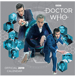 Doctor Who Calendar 2019 English Version*