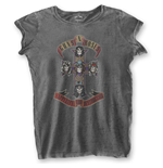 Guns N' Roses Ladies Fashion Tee: Appetite for Destruction (Burn Out)