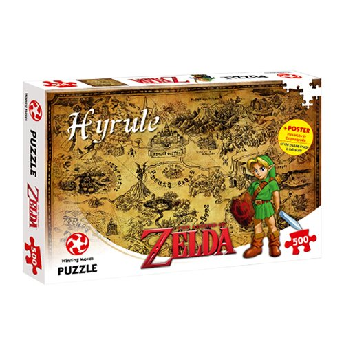 The Legend Of Zelda - Hyrule Field - 500 Pz Puzzles