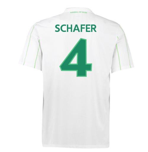 timeless design 2cbb6 1b0bb 2016-17 Vfl Wolfsburg Away Shirt (Schafer 4)